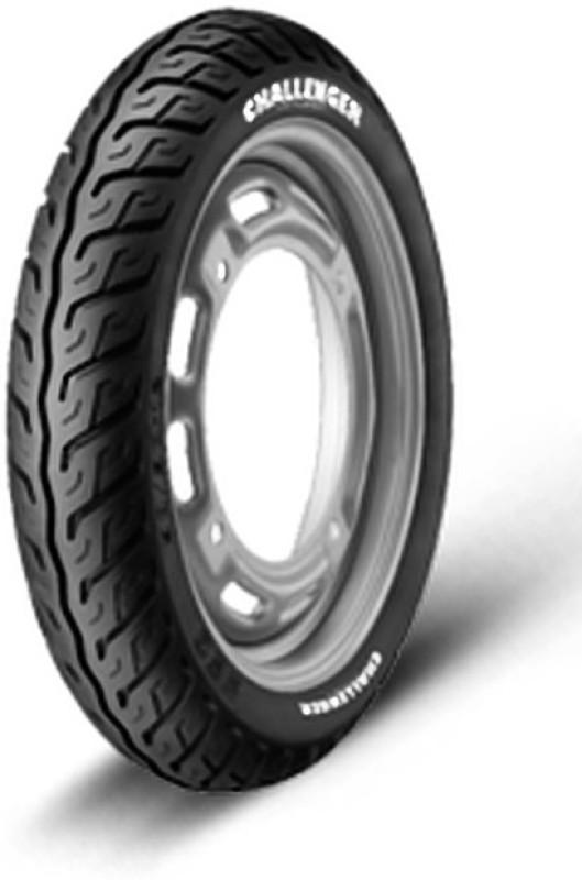 JK Tyre CHALLENGER S63 100/90-10 Front & Rear Tyre(Street, Tube)