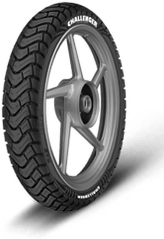 JK Tyre CHALLENGER R45 100/90-17 Rear Tyre(Dual Sport, Tube)
