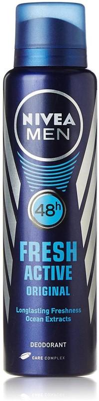 Nivea FRESH ACTIVE ORIGINAL Body Spray - For Men(150 ml)