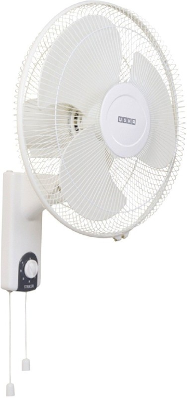 Usha Striker 3 Blade Wall Fan(White)