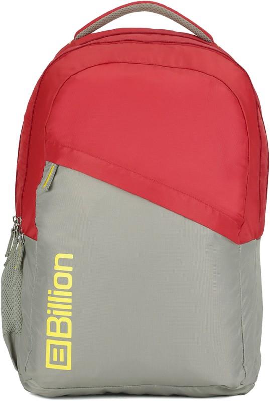 Billion HiStorage Backpack(Red, Grey)