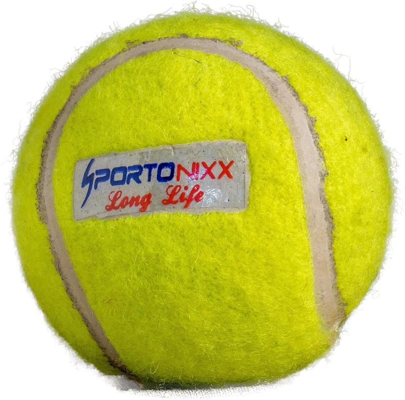 Sportonixx   LONG LIFE   LITE Cricket Tennis Ball - Size: 3(Pack of 1, Yellow)