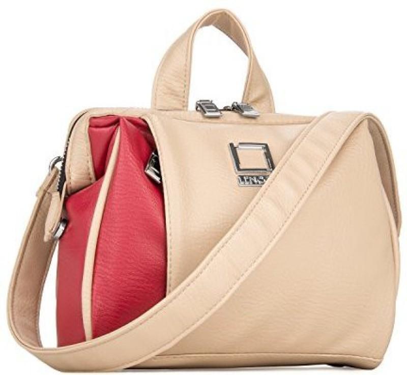 Vangoddy Crossbody Shoulder Bag Fits Canon Slr Dslr Eos Rebel Camcorder / Lens Accessories Case - PT_LENLA303_APCan Camera Bag(Pink, Beige)