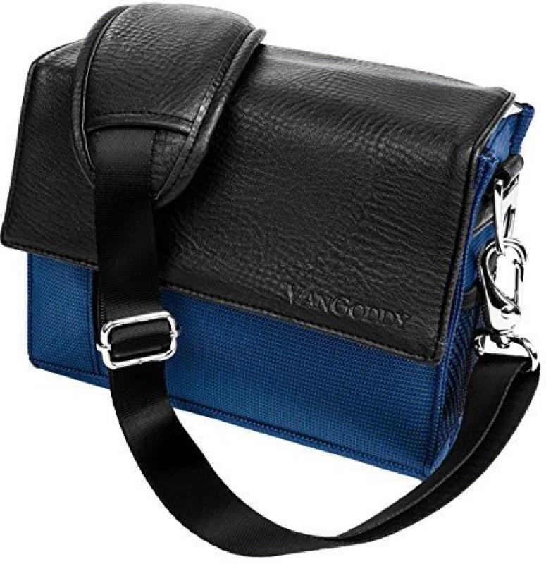 Vangoddy Blue Polaroid Xs100I Waterproof Sports Action Video Camera Accessories Case Camcorder Bag - PT_CAMLEA205_PolXS100 Camera Bag(Blue)