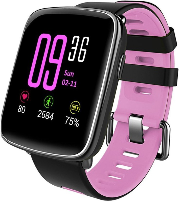 Omnix GV68 SMART WATCH Fitness Band(Pink, Pack of 1)
