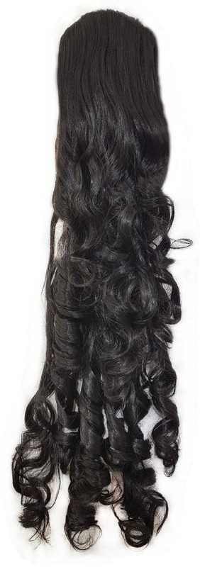 AASA Extension, curly Synthetic, 24 inches (Black) Hair Extension