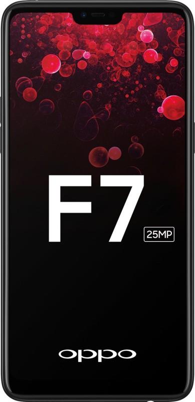 OPPO F7 (Black, 128 GB)(6 GB RAM)