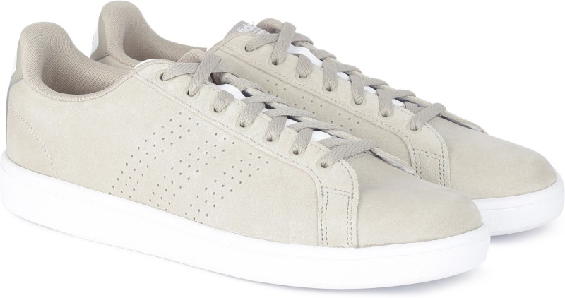 ADIDAS CF ADVANTAGE CL Tennis Shoes For Men(Beige)