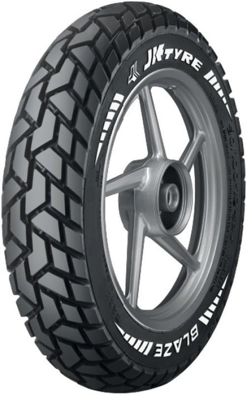 JK Tyre BLAZE BR21 3.00-18 Rear Tyre(Street, Tube Less)
