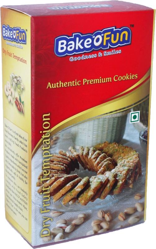 Bakeofun Dry Fruit Temptation Cookies(225 g)
