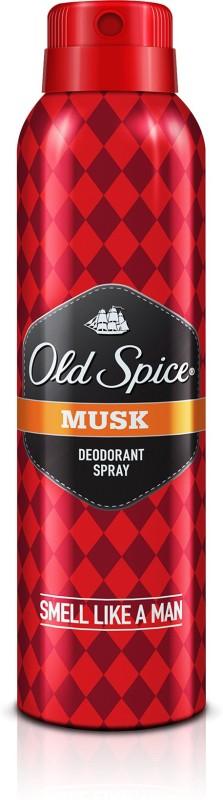 Old Spice Musk Deodorant Spray - For Men(150 ml)