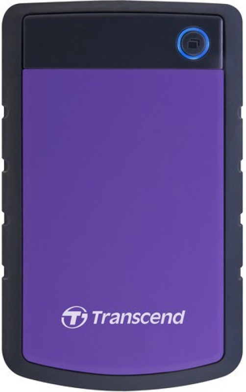 Transcend 4 TB External Hard Disk Drive(Purple)