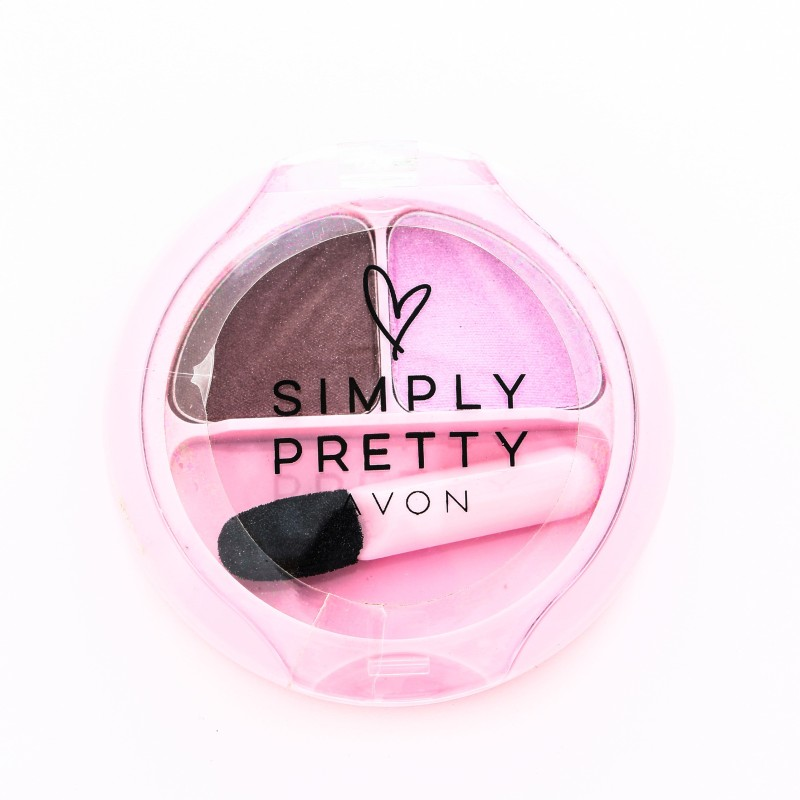 Avon Simply Pretty Eye Shadow Duo 1.7g - Charm 1.7 g(Charm)
