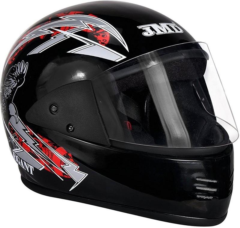 JMD ELEGANT Motorbike Helmet(Red, Black)