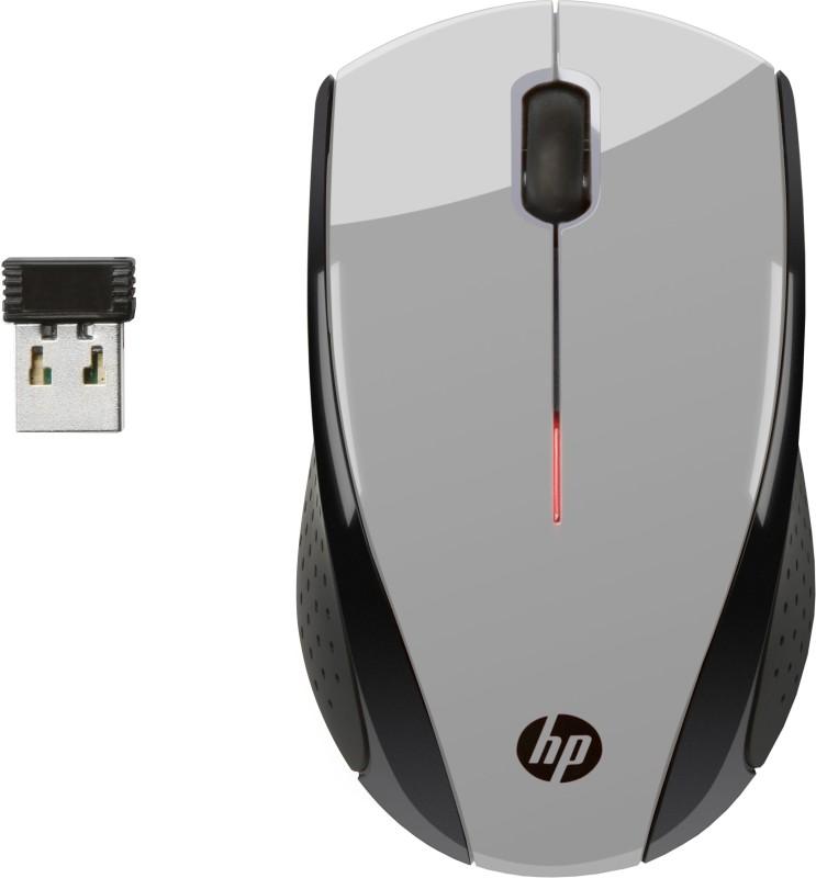 HP K5D28AA Wireless Optical Mouse(2.4GHz Wireless, Black, Grey)