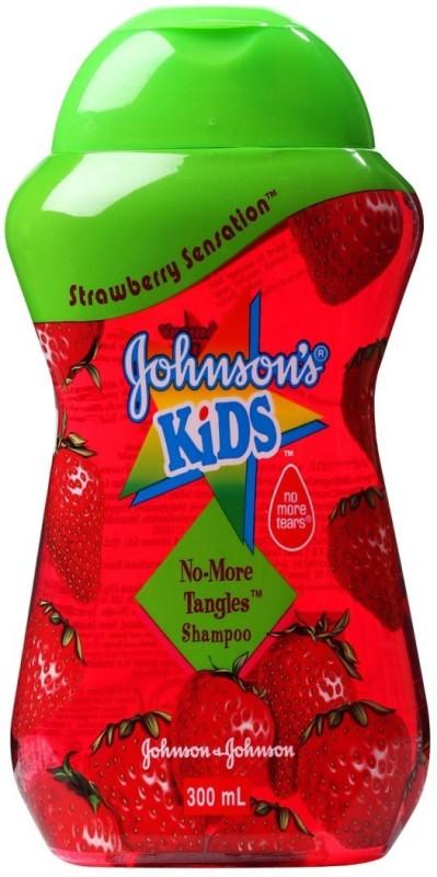 Johnson's Kids Strawberry Sensation No-More Tangles Shampoo (300 mL)(300 ml)