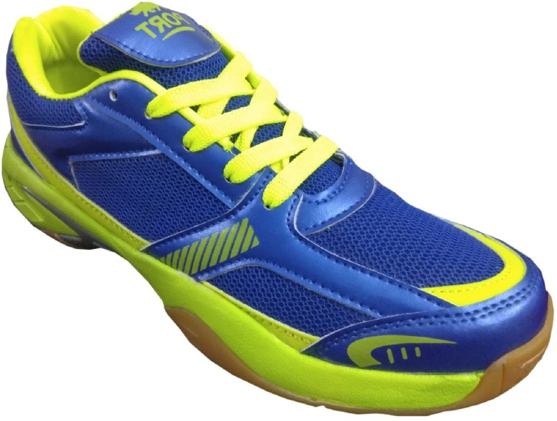 Port BILBOSNYAC Badminton Shoes For Men(Blue)