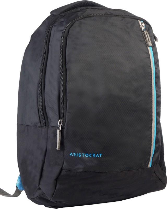 Aristocrat A2 Backpack (Black) 18 L Backpack(Black)