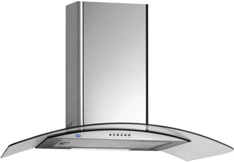 Kaff OPEC MX 70 Wall Mounted Chimney(Inox 1180)