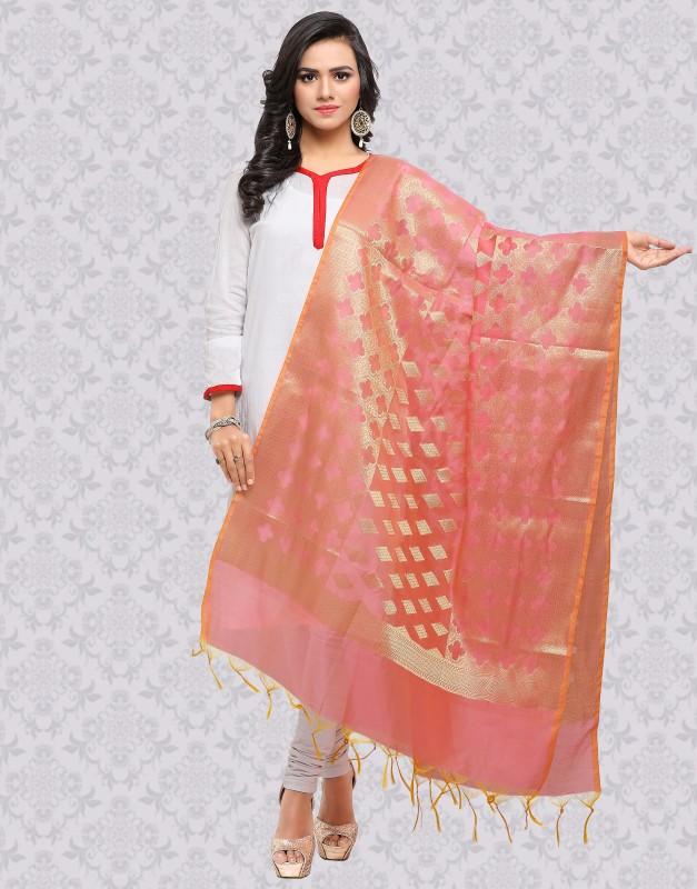 Divastri Raw Silk Embellished Women Dupatta