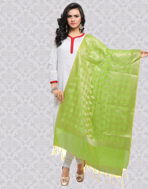 Divastri Raw Silk Embellished Women Dupatta