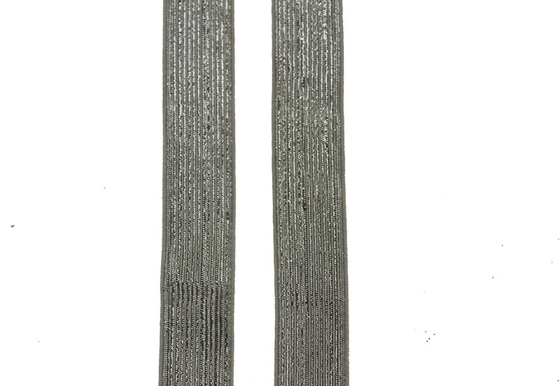 Jainsons Knitted Silver Elastic(20 m)