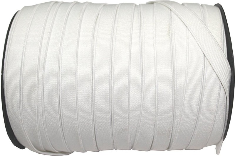 Jainsons Woven White Elastic(100 m)