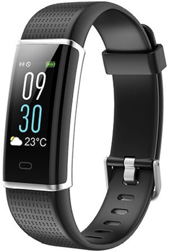 Omnix ID 130 PLUS Fitness Band(Black, Pack of 1)