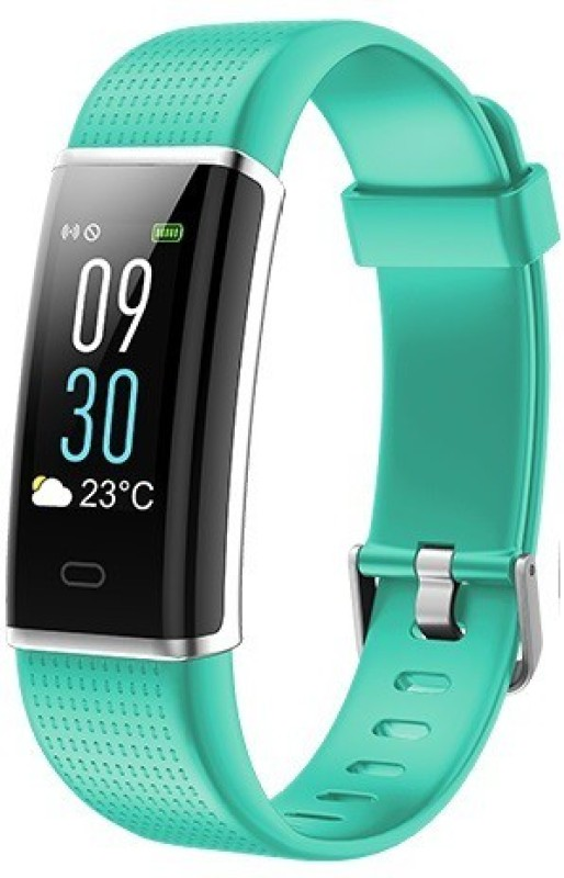 Omnix ID 130 PLUS Fitness Band(Green, Pack of 1)