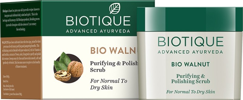Biotique Bio Walnut Purifying and Polishing Scrub(50 g)