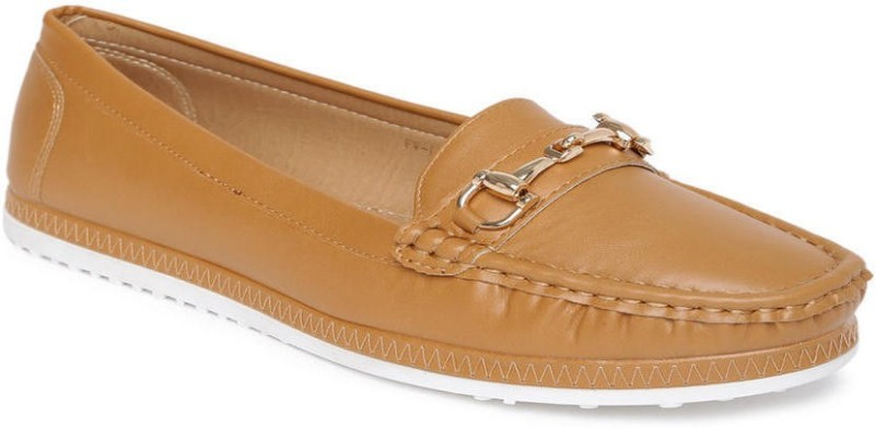 Addons Loafers For Women(Tan)