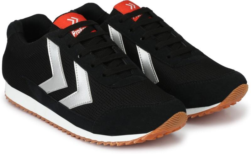 Proforce Light-Trail Black Mesh Running Shoes For Men(Black)