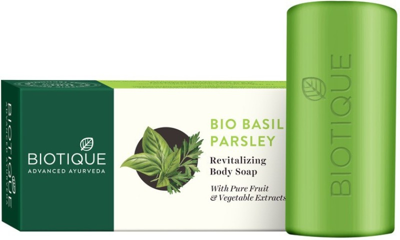 Biotique Bio Basil and Parsley Revitalizing Body Soap(150 g)
