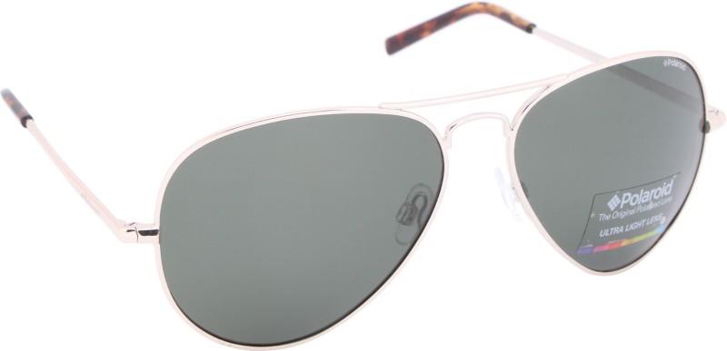 Polaroid Aviator Sunglasses(Green)