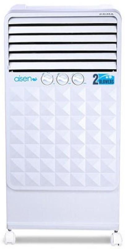 AISEN PRIMA Tower Air Cooler(White, 35 Litres)