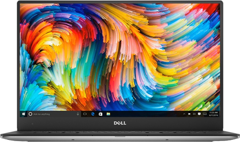 Dell XPS 13 Core i5 8th Gen - (8 GB/256 GB SSD/Windows 10 Home) 9370 Thin and Light Laptop(13 inch, Silver, 1.21 kg, With MS Office)