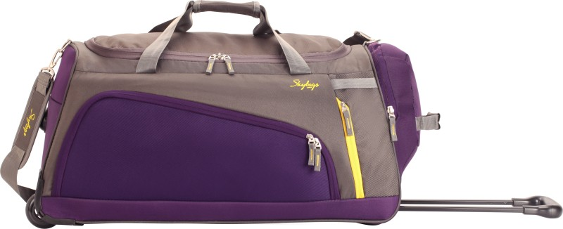 Skybags Hatch 57 cm Duffle On Wheel (Grey) Duffel Strolley Bag(Grey)