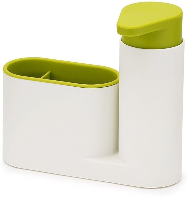 Arura Self Sink Drainer Dishwasher Sanitizer Liquid Dispenser & Sponge Holder 250 ml Shampoo Dispenser(Multicolor)
