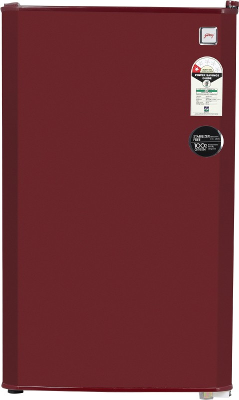 Godrej 99 L Direct Cool Single Door 1 Star Refrigerator(Wine Red, R D CHAMP 114 WRF 1.2 WIN RED)