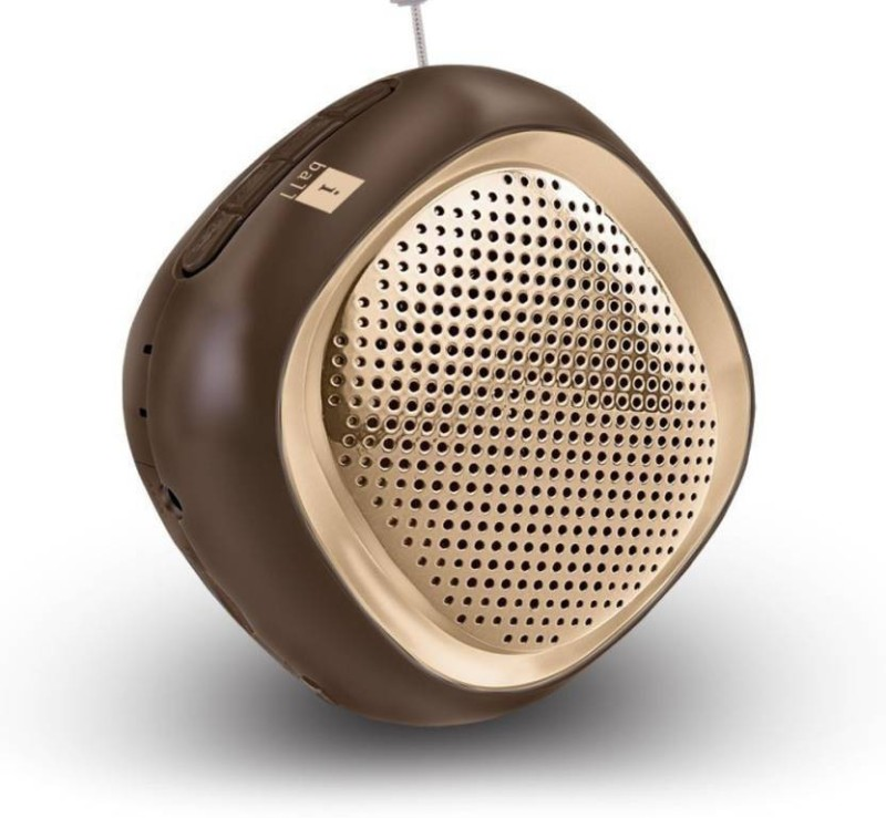 iball Cube 3 Bluetooth Home Audio Speaker(Brown, Stereo Channel)