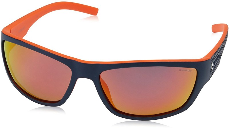 Polaroid Sports Sunglasses(Orange)