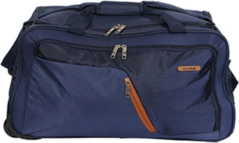 Safari Gradient 55 cm Duffle On Wheels (Blue) Duffel Strolley Bag(Blue)