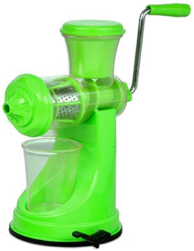ShopiMoz Multipurpose Fruit & Vegetable Assorted Colour Plastic Hand Juicer(Multicolor)