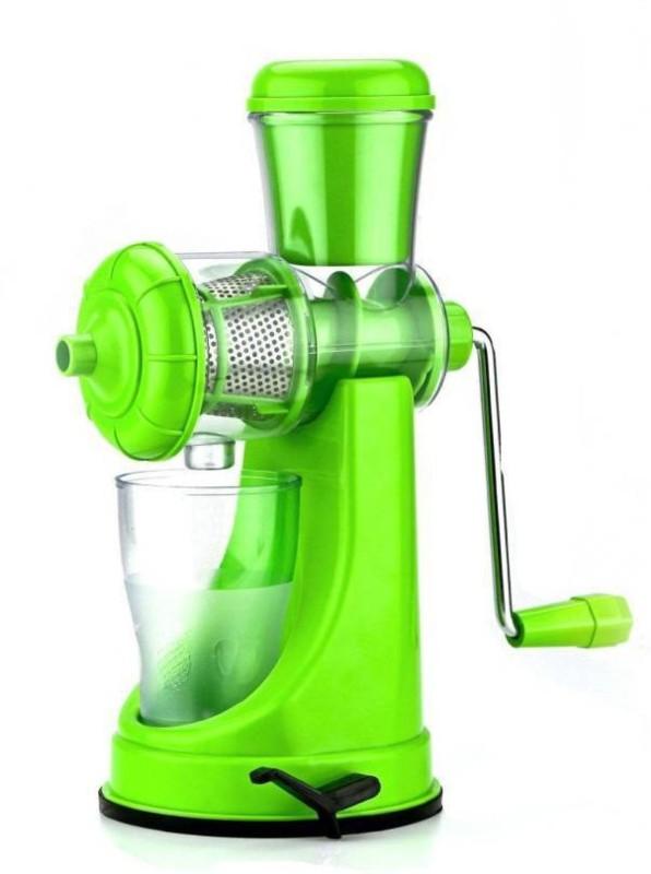 ShopiMoz Premium Quality Fruit and Vegetable Plastic Hand Juicer(Multicolor)