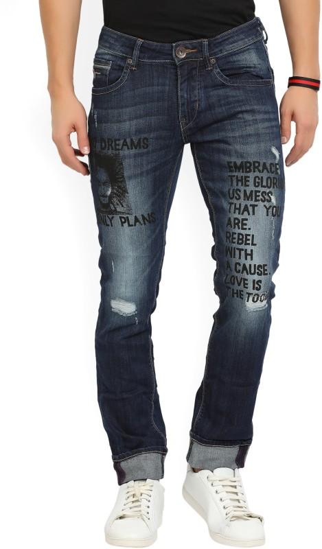 Flying Machine Slim Men's Blue Jeans