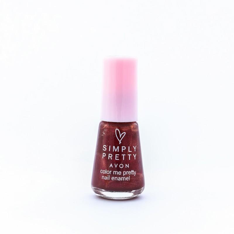 Avon SP Nail Enamel Restage 5ml - Luscious Cherry Luscious Cherry(5 ml)