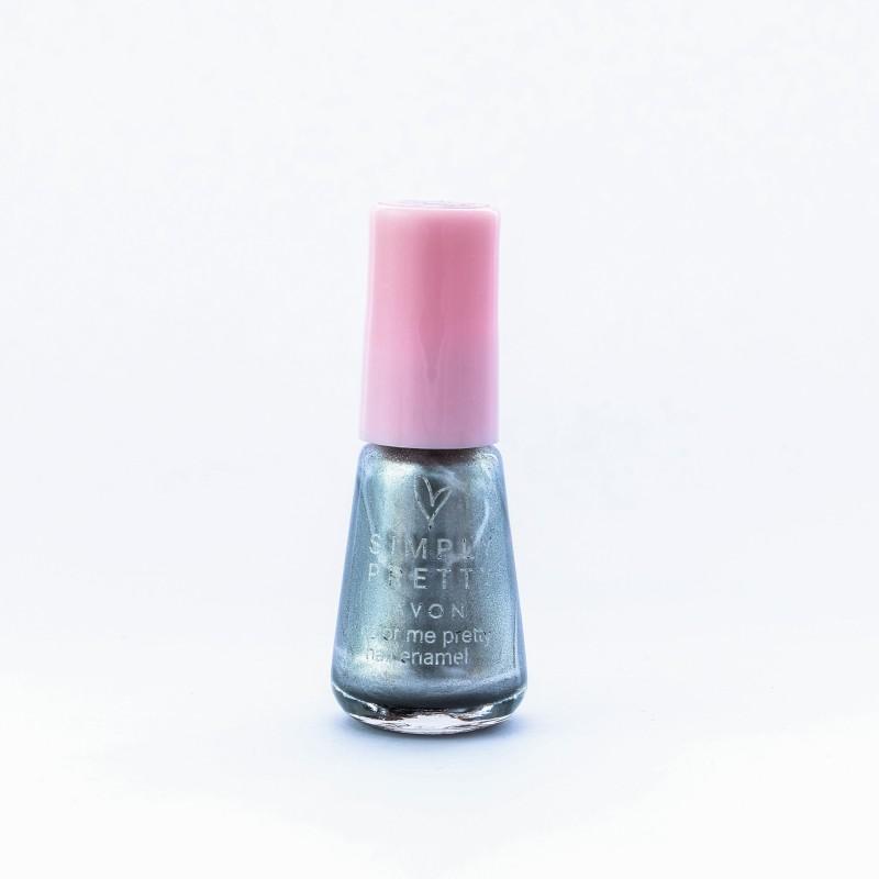 Avon SP Nail Enamel Restage 5ml - Sizzling Silver Sizzling Silver(5 ml)