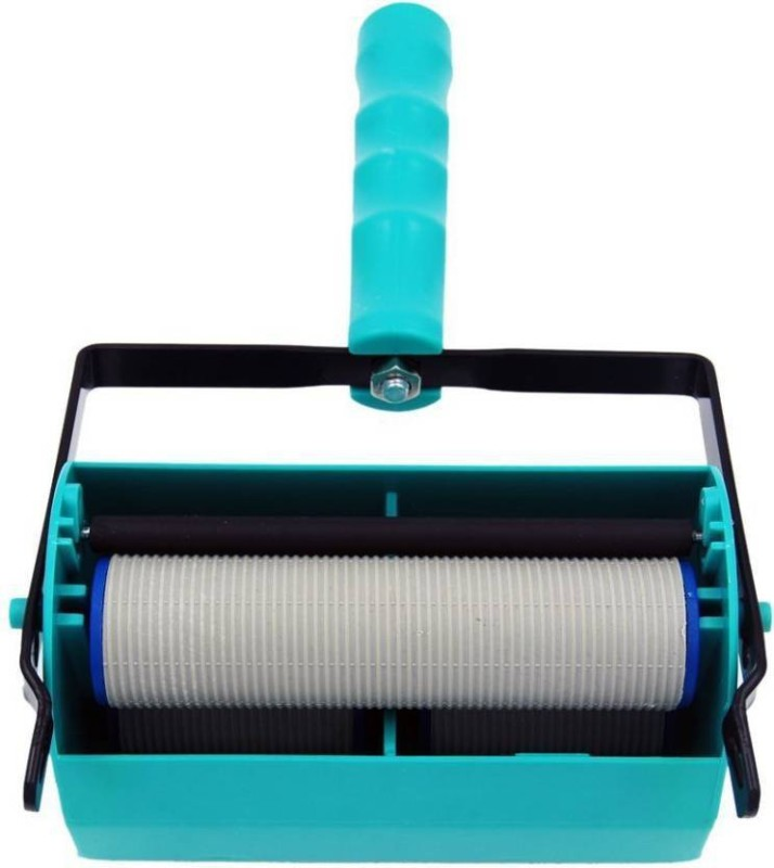 volga Rubber Roller With Double Color Decoration Machine R-90 Paint Roller(Pack of 1)