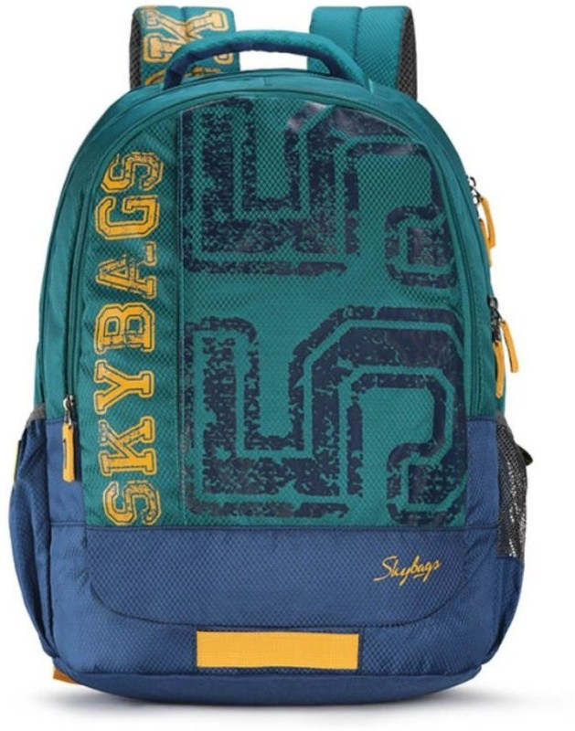 Skybags BINGO 01 GREEN 32 L Backpack(Green)
