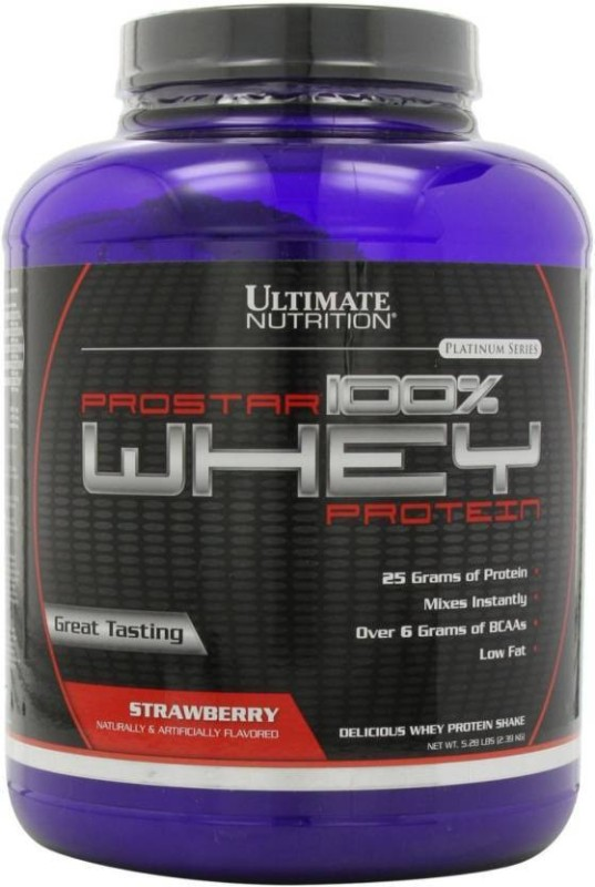 Ultimate Nutrition Prostar 100% Whey Protein(2.39 kg, Strawberry)